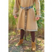 Medieval Leather Long Belt - Brown